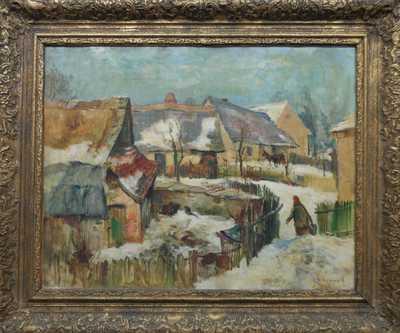 Karel Jan Sigmund - Zimní den na Bazalech