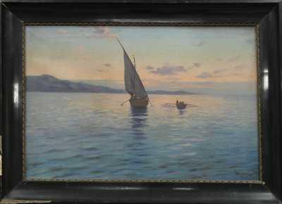 Josef Cerman - Rybářská bárka