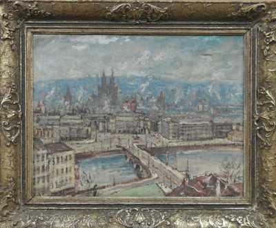 František  Max - Panorama Starého města
