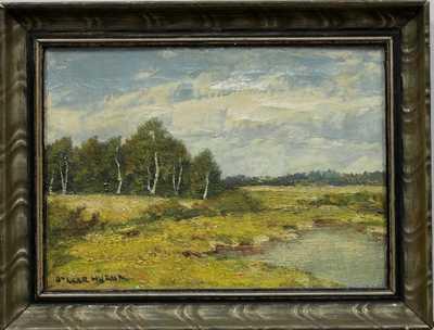 Otakar Hůrka - Louka s rybníkem