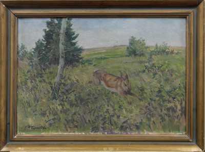 Vojtěch Hynek Popelka - Běžící zajíc