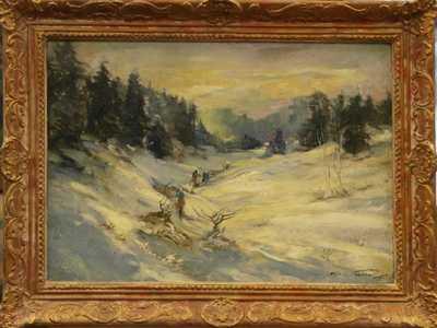 Jan Bohumil Pospíšil - Zima v horách