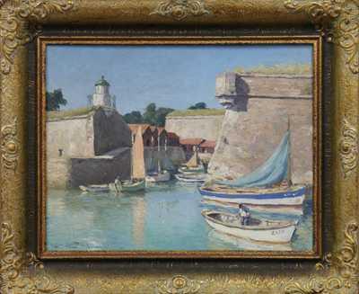 Christian Merhaud - V přístavu