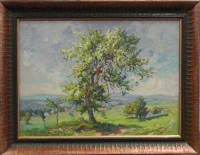 František Cína - Jelínek - U rozkvetlého stromu