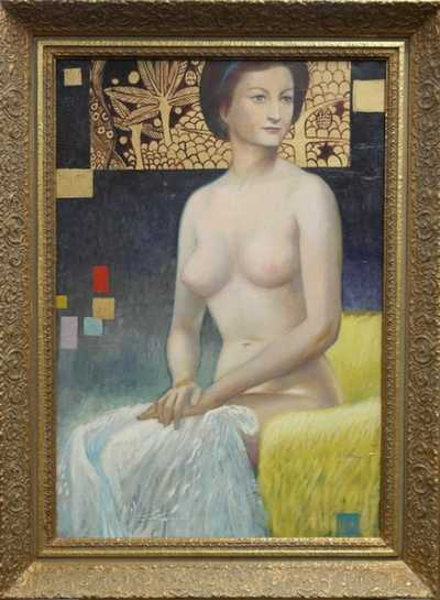 Josef Kábrt - Pocta Klimtovi