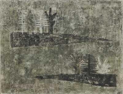 Eva Brýdlová - Abstraktní krajina