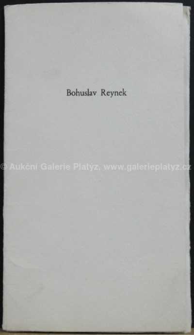 Bohuslav Reynek - Odlet vlaštovek
