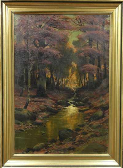 Autor neurčen - Lesní potok