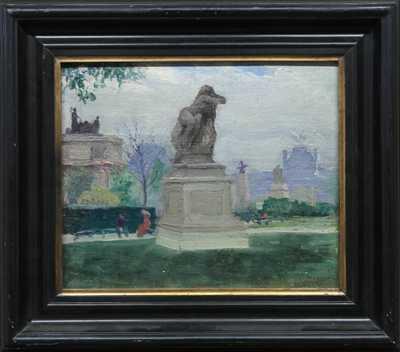 Teodor Josef Mousson - Pařížský motiv