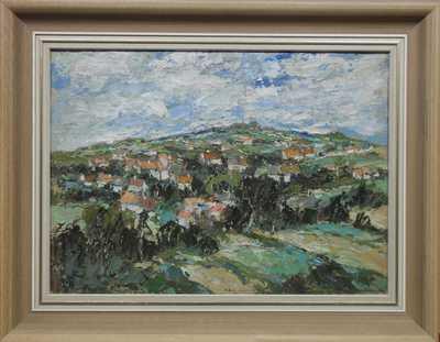František  Max - Vesnice pod kopcem