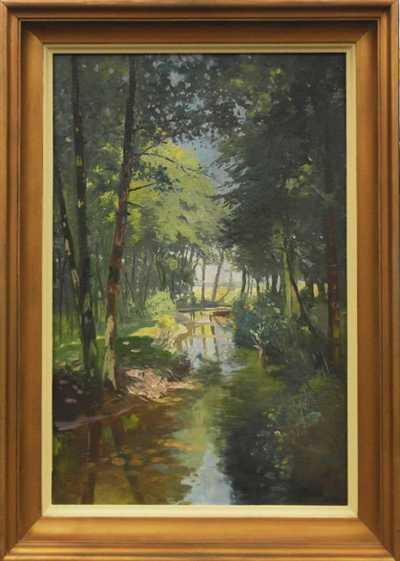 Nesignováno - Potok v lese