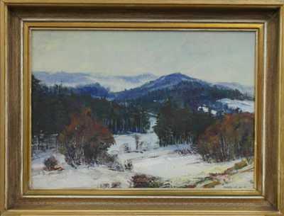 Karel Holec - Zasněžené vrchy