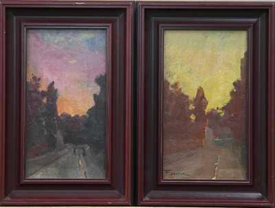František Dvořák Brunner - Západ slunce