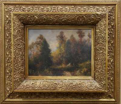 Karel Liebscher - Podzimní les