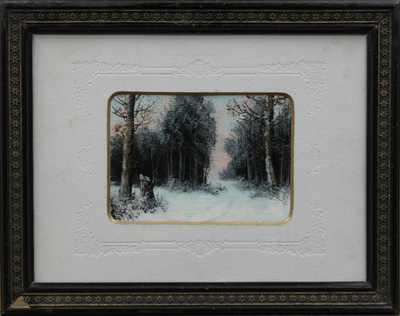 Antonín Waldhauser  - Zimní les
