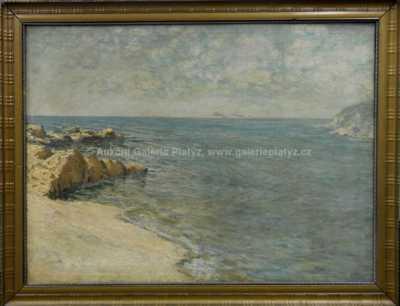 Josef Písecký (Liška) - Na pobřeží