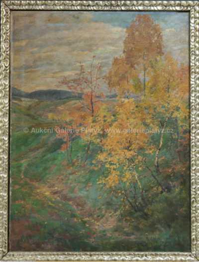 Božena Vohánková - Podzimní roklinka