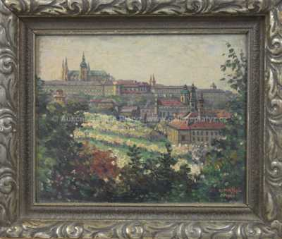 Celestýn Matějů - Pražský hrad