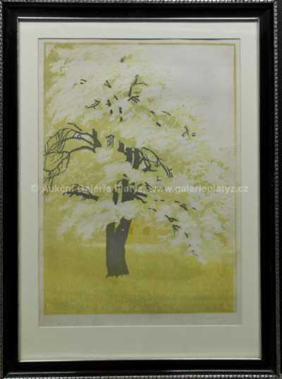 Vojtěch Preissig - Strom v zahradě