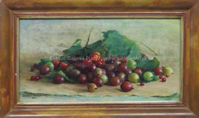 František Daněk - Sedláček - Zátiší s ovocem