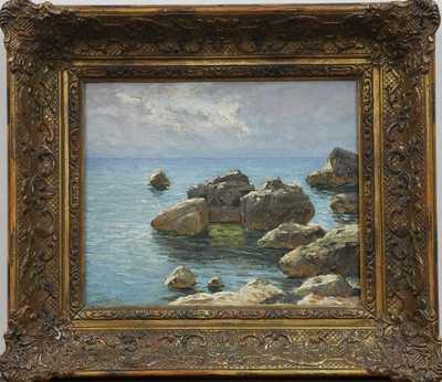 Josef Písecký (Liška) - Chorvatské pobřeží