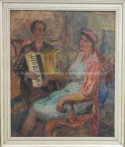 Karel Chaloupka - S harmonikou