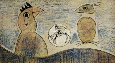 Max Ernst - Oiseaux