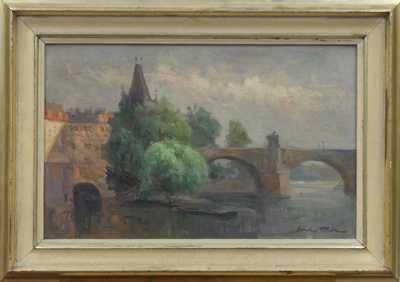 Karel Hodr - U Karlova mostu