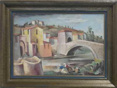 František Viktor Mokrý - Ponte di San Mauro