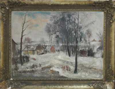 Karel Jan Sigmund - Na zasněžené cestě