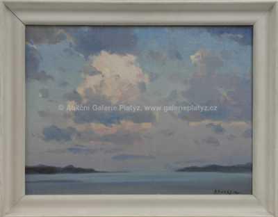 Alexej Vasiljevič Hanzen - Podvečer nad mořem