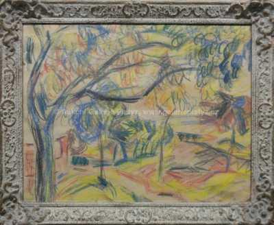 Bohumír Dvorský - Rozkvetlé stromy