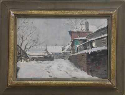 Karel Holan - Zima na kraji města