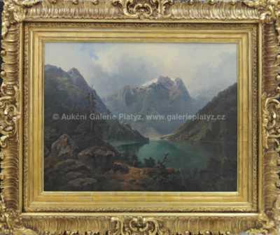 Louisa  Piepenhagen - Alpská krajina