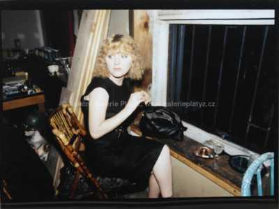 Nan Goldin - Duben v okně