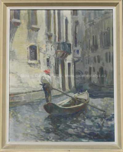 Autor neurčen - Na loďce