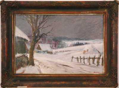 Karel Balíček - Zima v Rybné na Vysočině