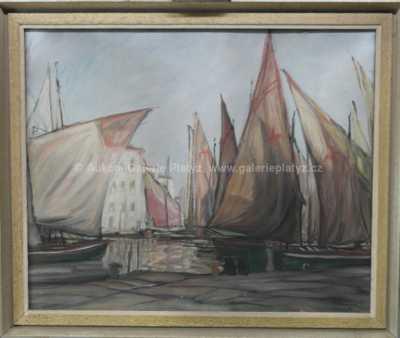 Otto Langer - V přístavu