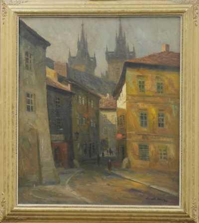 Karel Hodr - Týnská ulička