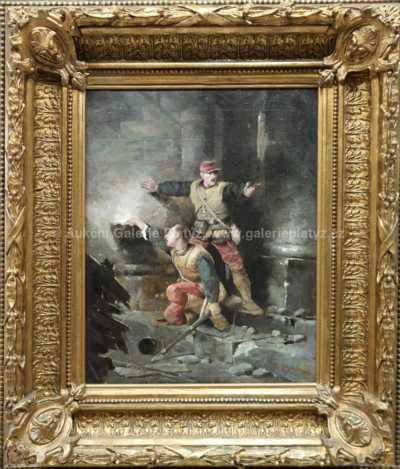 Wilfrid Constant Beauquesne - Přestřelka
