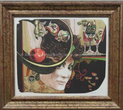 Josef Liesler - Dáma s kloboukem