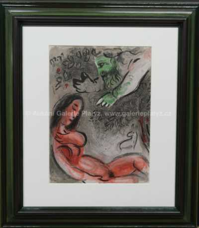 Mark Chagall - Eva zatracovaná Bohem