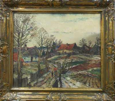 Karel Holec - Před jarem na vsi