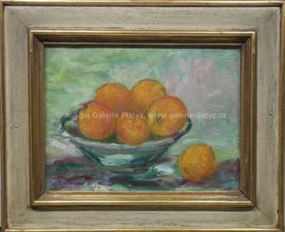 Jiřina Skálová - Zátiší s pomeranči