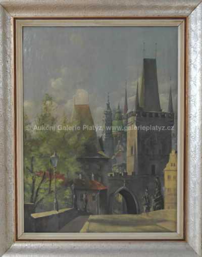 Autor neurčen - Mostecká věž