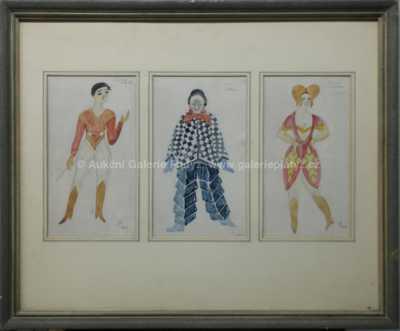 Vlastislav Hofman - Návrh divadelních kostýmů