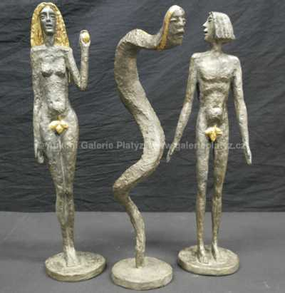 Olbram Zoubek - Adam, Eva a had