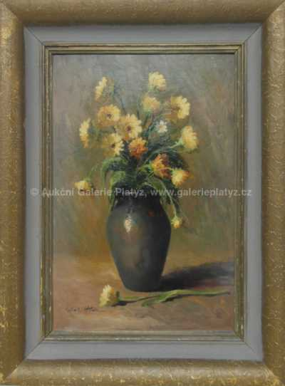 Karel Hodr - Žluté květy