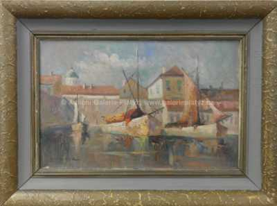 Karel Hodr - Bárky v Dubrovníku