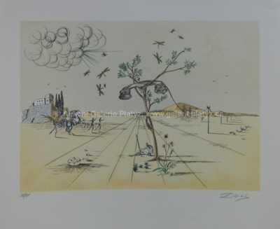 Salvador Dalí - Telefonní sluchátko